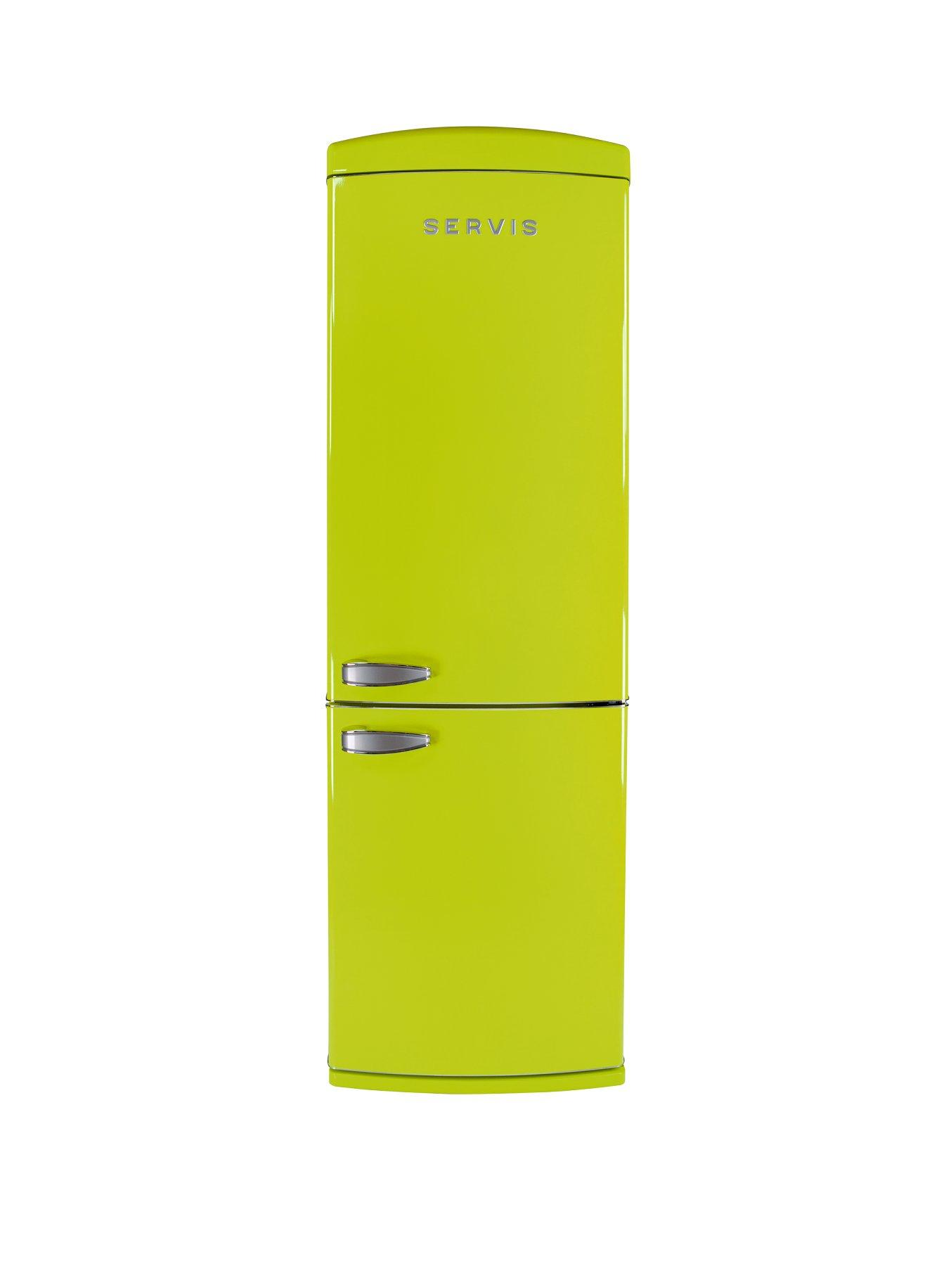 C60185NFPT 60cm No Frost Fridge Freezer  Green