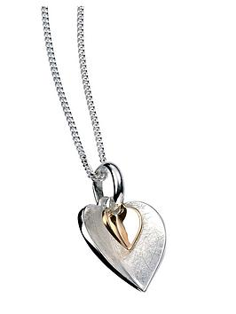 elements-silver-gold-plated-double-heart-pendant