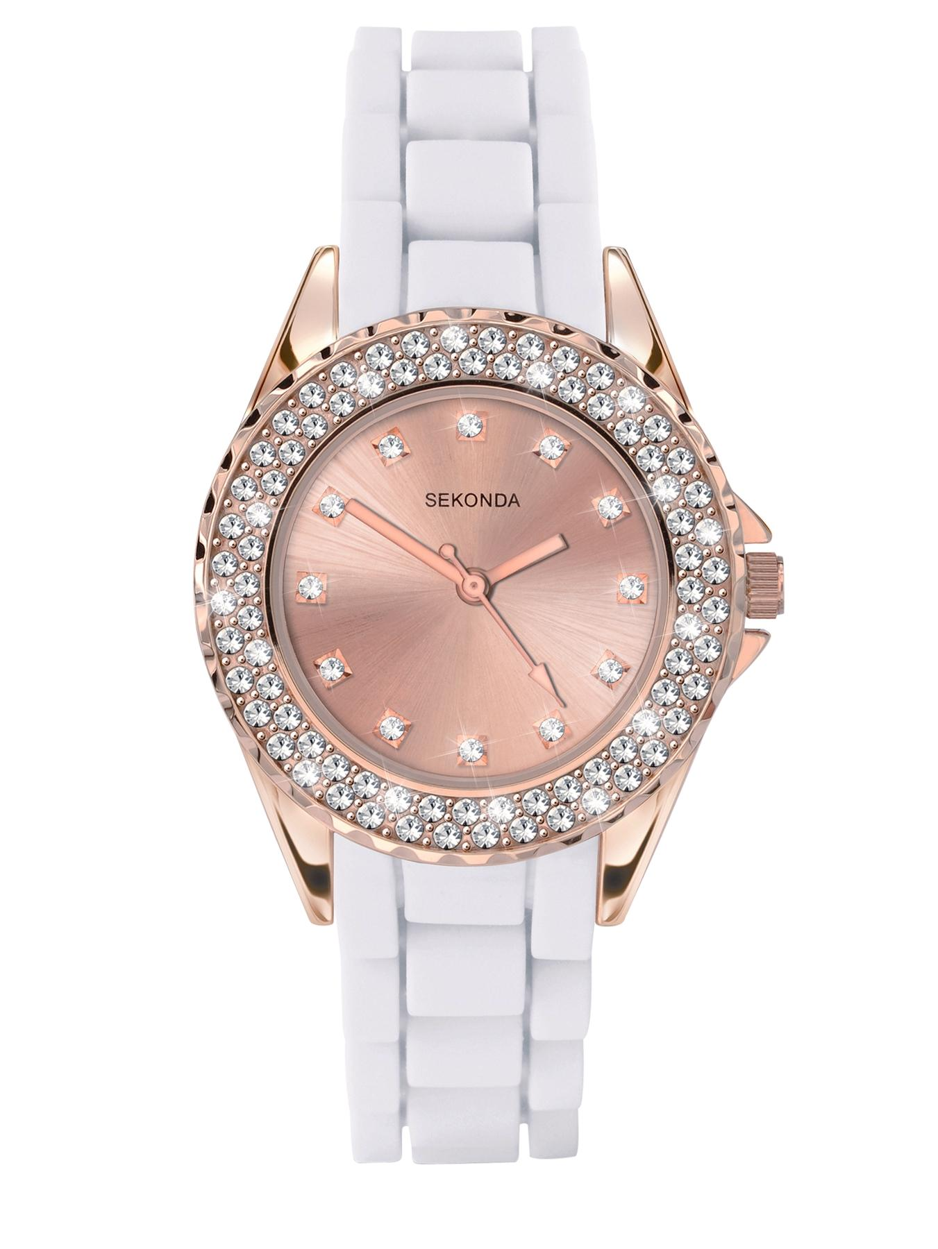 Ladies Party Time Rose Gold Watch
