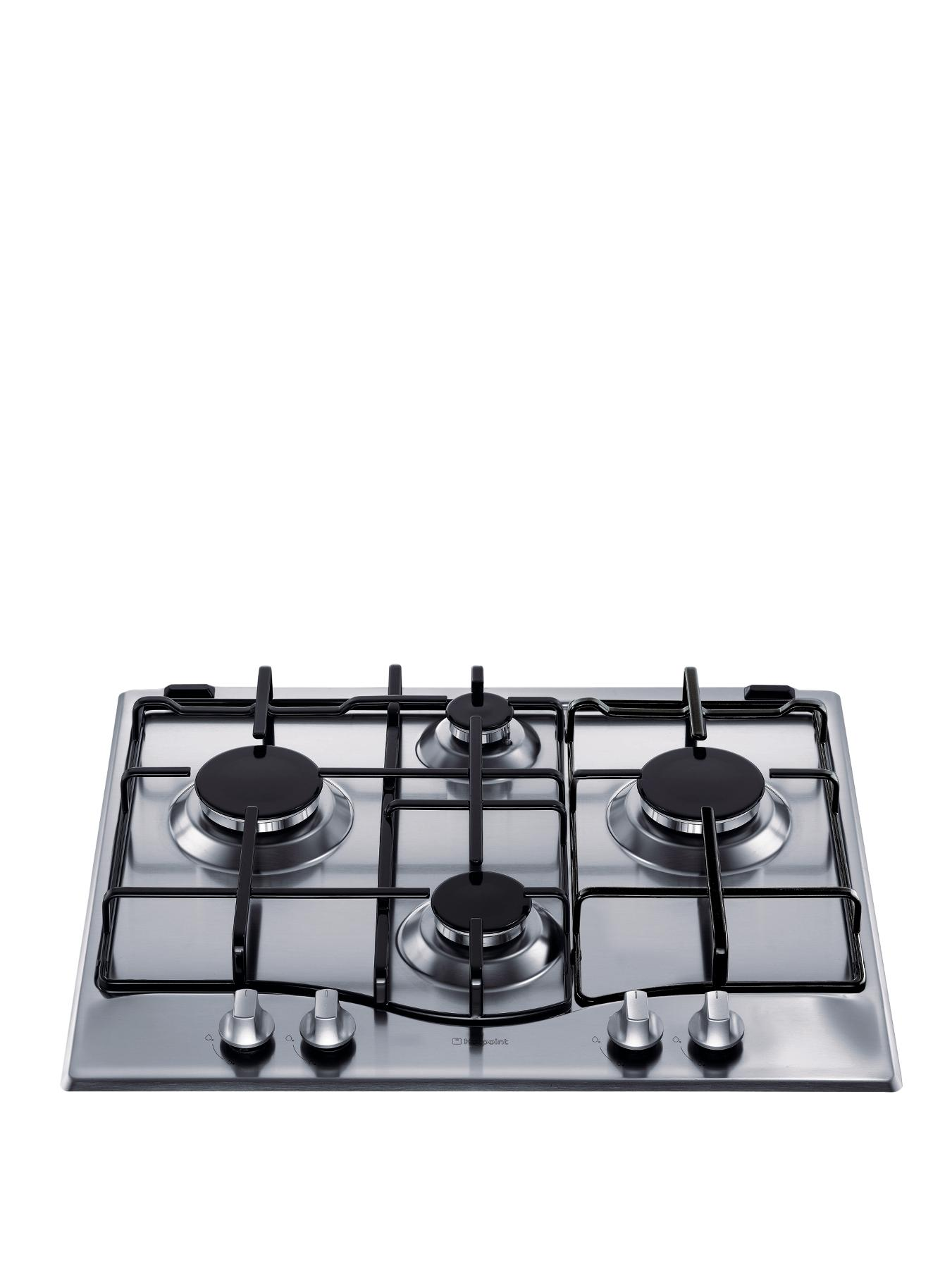 GC640IX 60cm Built-in Gas Hob - Stainless Steel