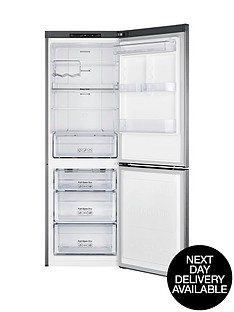 samsung-rb29fsrndsaeu-60cm-no-fridge-freezer-silver-next-day-delivery