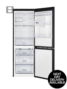samsung-rb29fwrndbc-60cm-no-frost-fridge-freezer-black-next-day-delivery