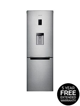 samsung-rb31fdrndsaeu-60cm-frost-free-fridge-freezer-with-digital-inverter-technology-next-day-delivery-silver