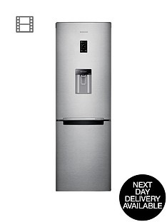 samsung-rb31fdrndsaeu-60cm-no-frost-fridge-freezer-next-day-delivery-silver