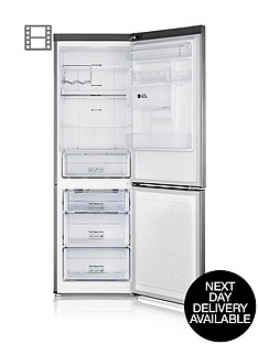 samsung-rb31fdrndsaeu-60cm-no-frost-fridge-freezer-silver-next-day-delivery