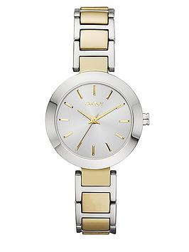 dkny-stanhope-two-tone-yellow-gold-tone-and-stainless-steel-bracelet-ladies-watch