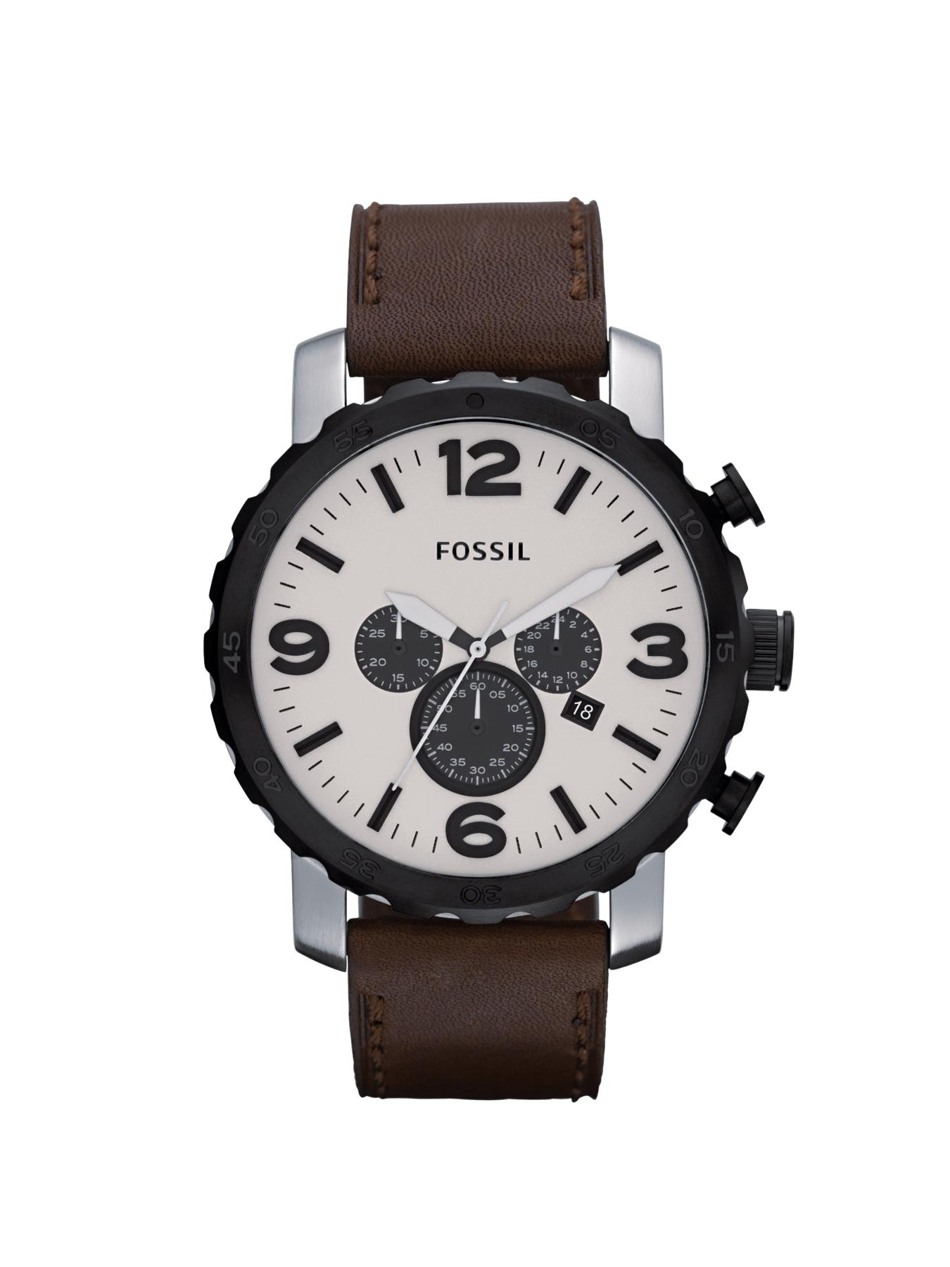 Nate Egg Shell Dial Mens Watch