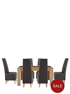 joanna-table-and-6-manhattan-chairs