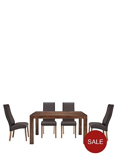 new-dakota-145-cm-dining-table-and-4-buckingham-chairs