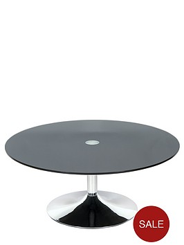 roma-glass-and-chrome-round-coffee-table
