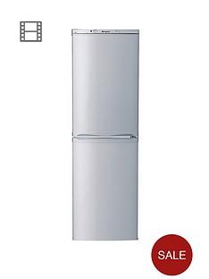 hotpoint-ffaa52s-55cm-frost-free-fridge-freezer-silver