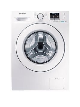 Samsung Wf70F5E0W2WEu 7Kg Load 1200 Spin Washing Machine With Ecobubble&Trade Technology  White