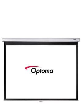 optoma-ds-3084pmg-84-inch-diag-pull-down-screen