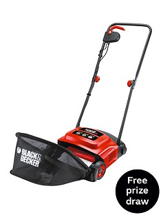 black-decker-gd300-gb-600-watt-lawnraker-free-prize-draw-entry