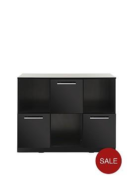 new-prague-gloss-3-door-3-shelf-storage-and-display-unit