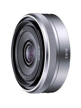 sony-sel16f28-e-16mm-f28-pancake-lens-for-nex-silver