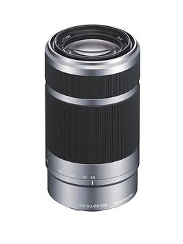 sony-sel55210-e-55-210mm-f45-63-oss-lens-for-nex-silver