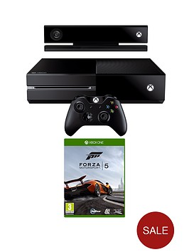 xbox-one-console-with-kinect-forza-motorsport-5-and-optional-3-or-12-months-xbox-live
