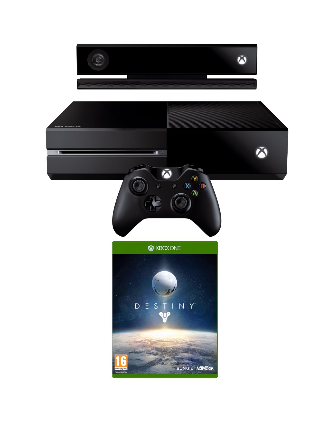 Console with Kinect and Destiny