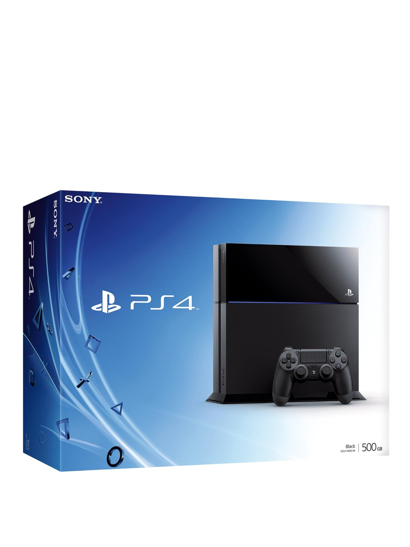 Console with Optional 90 Days or 12 Months PlayStation Plus