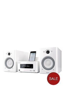 denon-ceol-piccolo-system-inc-speakers-white