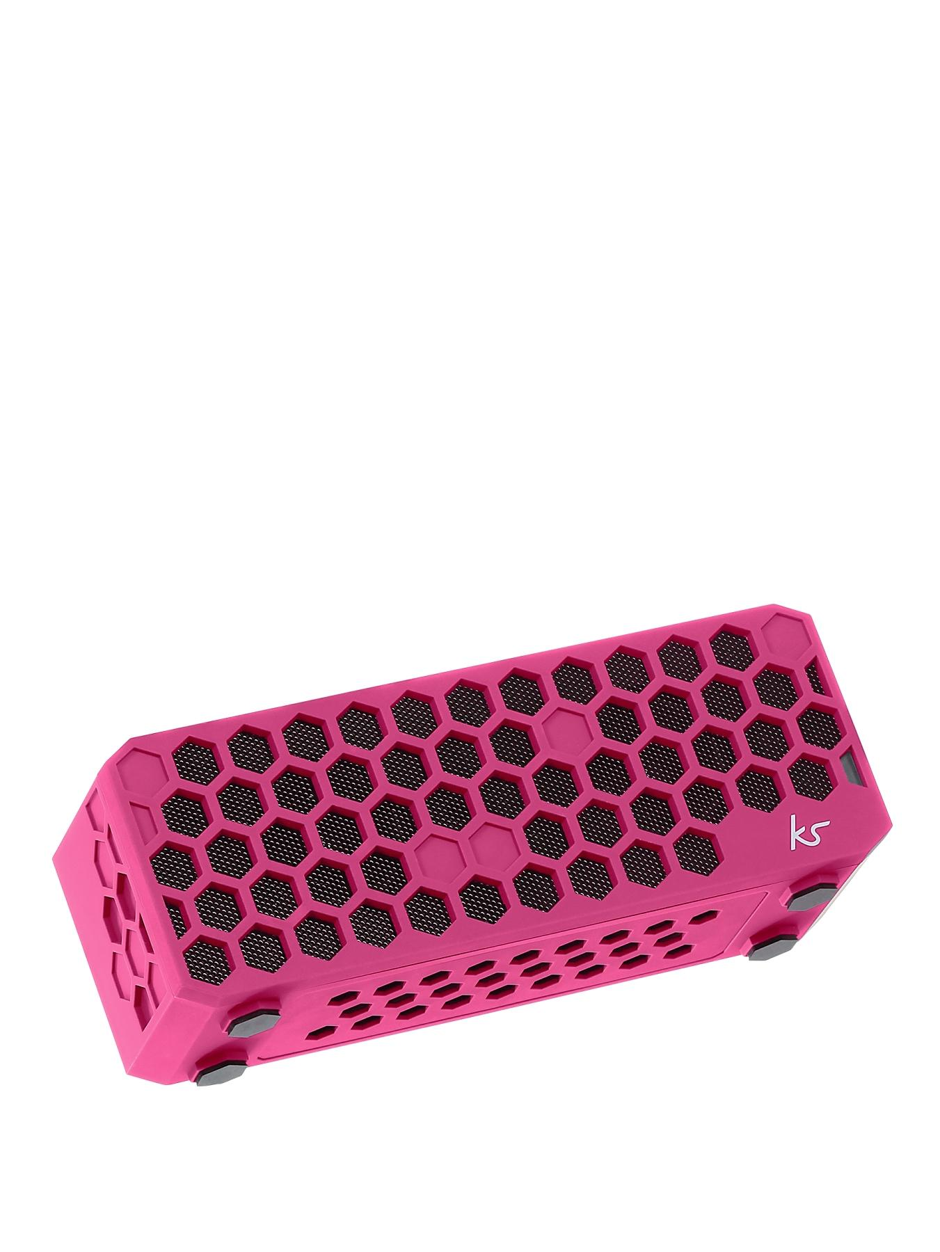 Hive Bluetooth Wireless Portable Stereo Speaker - Pink