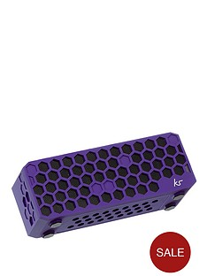kitsound-hive-bluetoothreg-wireless-portable-stereo-speaker-purple