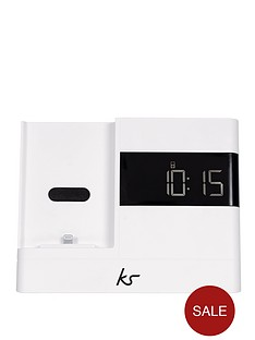 kitsound-x-dock-2-lightning-connector-clock-radio-dock-for-iphone-5-white