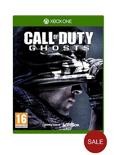 xbox-one-call-of-duty-ghosts-with-optional-3-or-12-months-xbox-live-and-pound50-cash-card