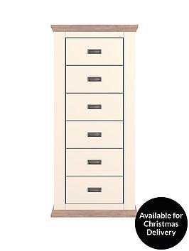 washington-narrow-chest-of-6-drawers