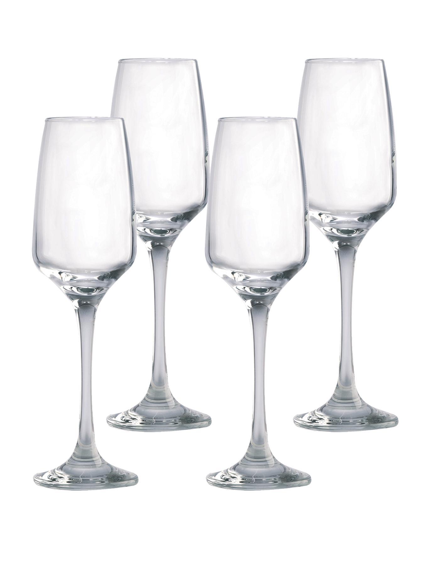 Nova 4 Flute Glasses