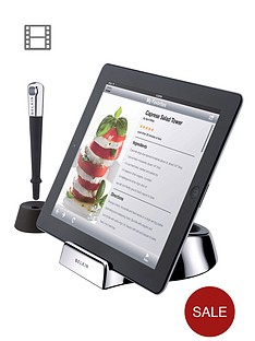 belkin-kitchen-chef-stand-and-wand-for-tablet-pc-silver
