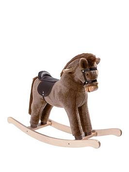 mamas-papas-chestnut-rocking-horse