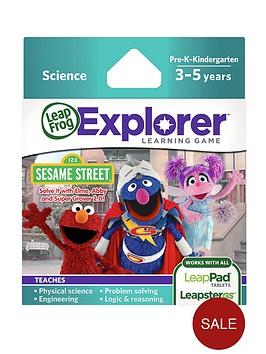 leapfrog-explorer-learning-game-sesame-street