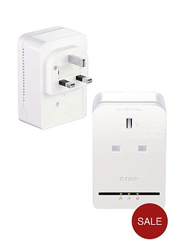 d-link-dhp-p309av-powerline-av-pass-through-mini-adapater