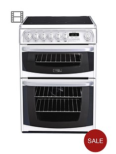 cannon-kendal-ch60ekws-60cm-ceramic-electric-double-oven-cooker-white