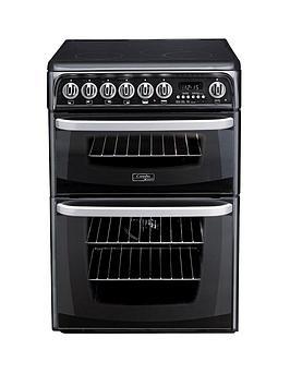 cannon-kendal-ch60ekks-60cm-ceramic-electric-double-oven-cooker-black