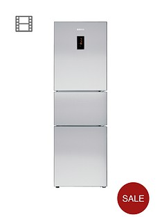 beko-cff6873gx-three-door-64cm-wide-fridge-freezer