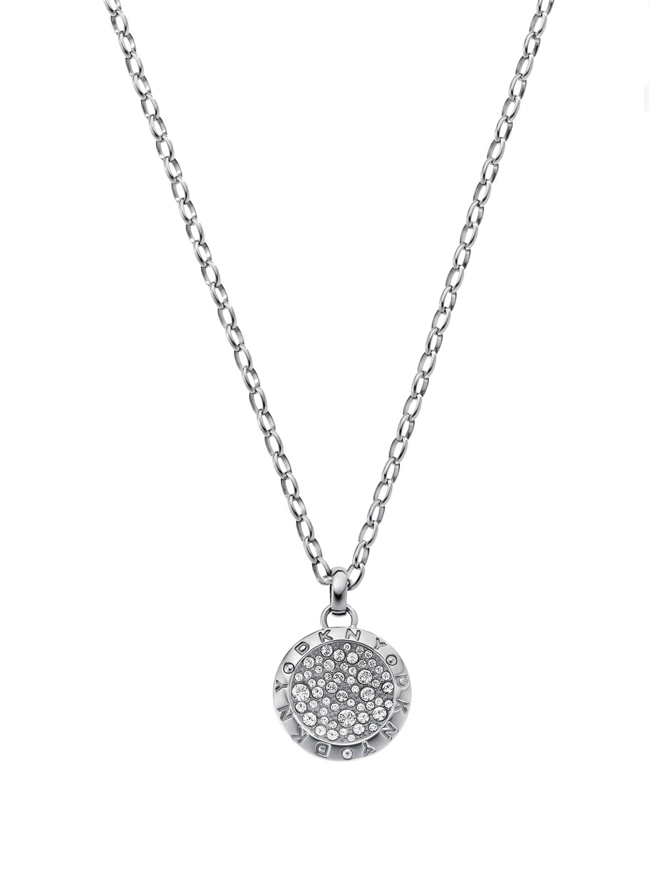 Ladies Stainless Steel Glitz Necklace