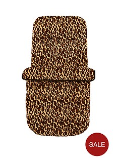 ladybird-fleece-footmuff-leopard