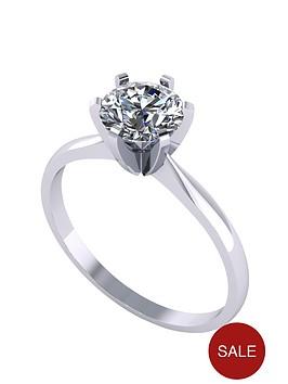 moissanite-platinum-1-carat-solitaire-ring