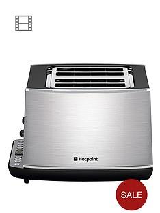hotpoint-tt44eax0uk-stainless-steel-4-slot-toaster