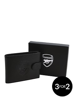 arsenal-fc-embossed-leather-wallet