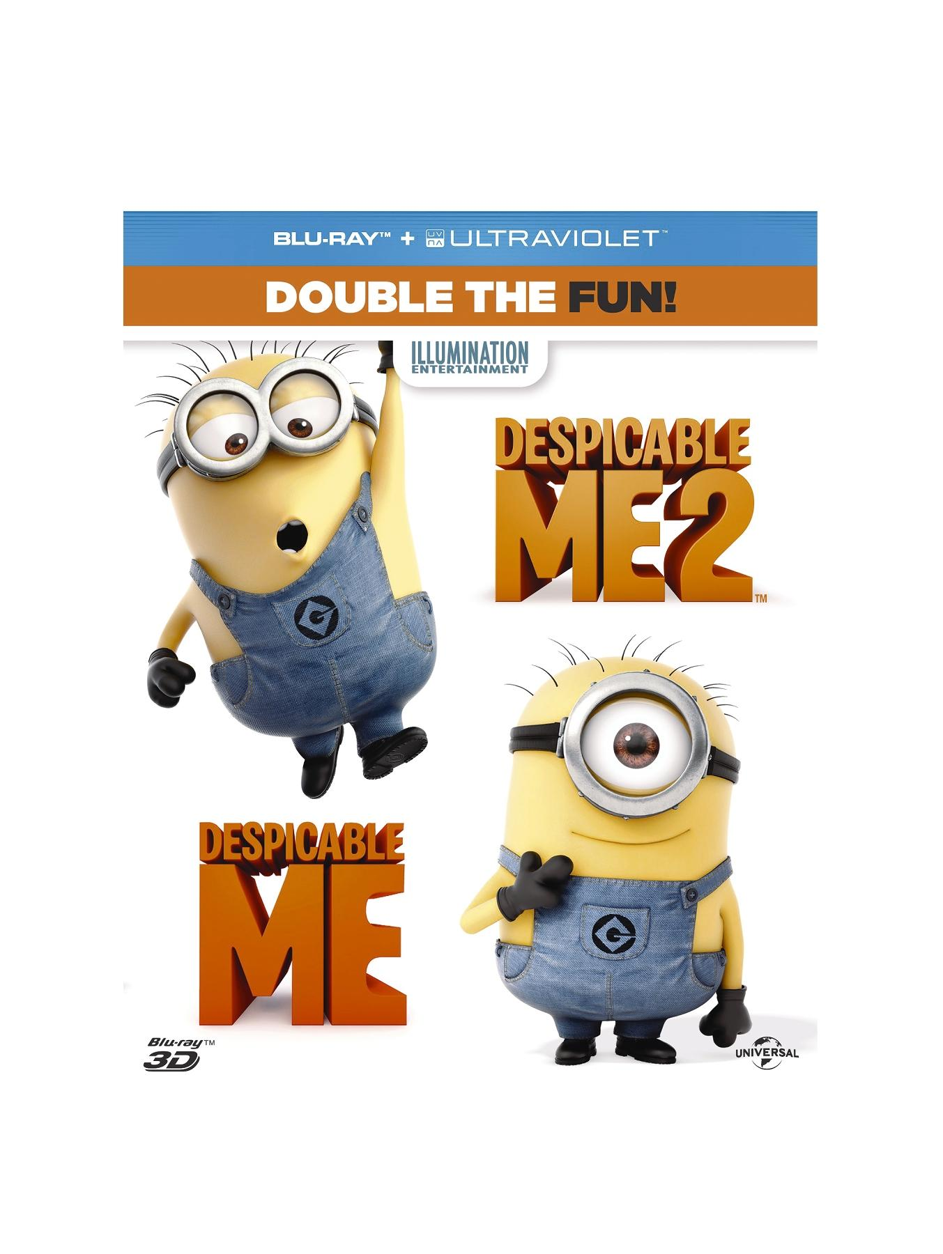 Despicable Me 1-2 Blu-ray