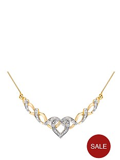 love-diamond-9-carat-yellow-gold-10-point-diamond-fancy-heart-necklet