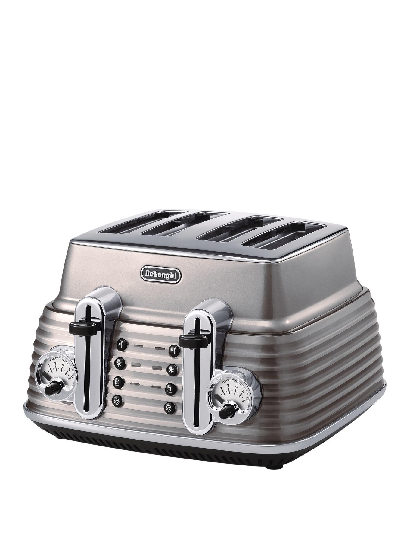Scultura CTZ4003.BG 4 Slice Toaster - Champagne