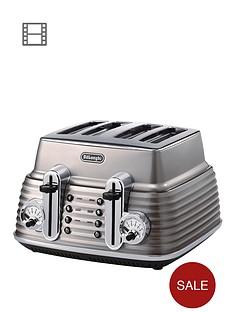 delonghi-scultura-ctz4003bg-4-slice-toaster-champagne
