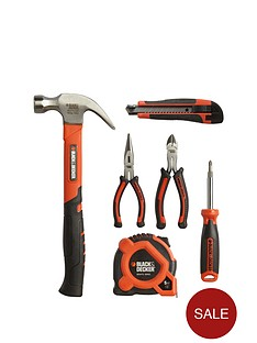 black-decker-bdhto-71631-6-piece-tool-kit