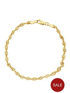 love-gold-9-carat-yellow-gold-twist-bracelet