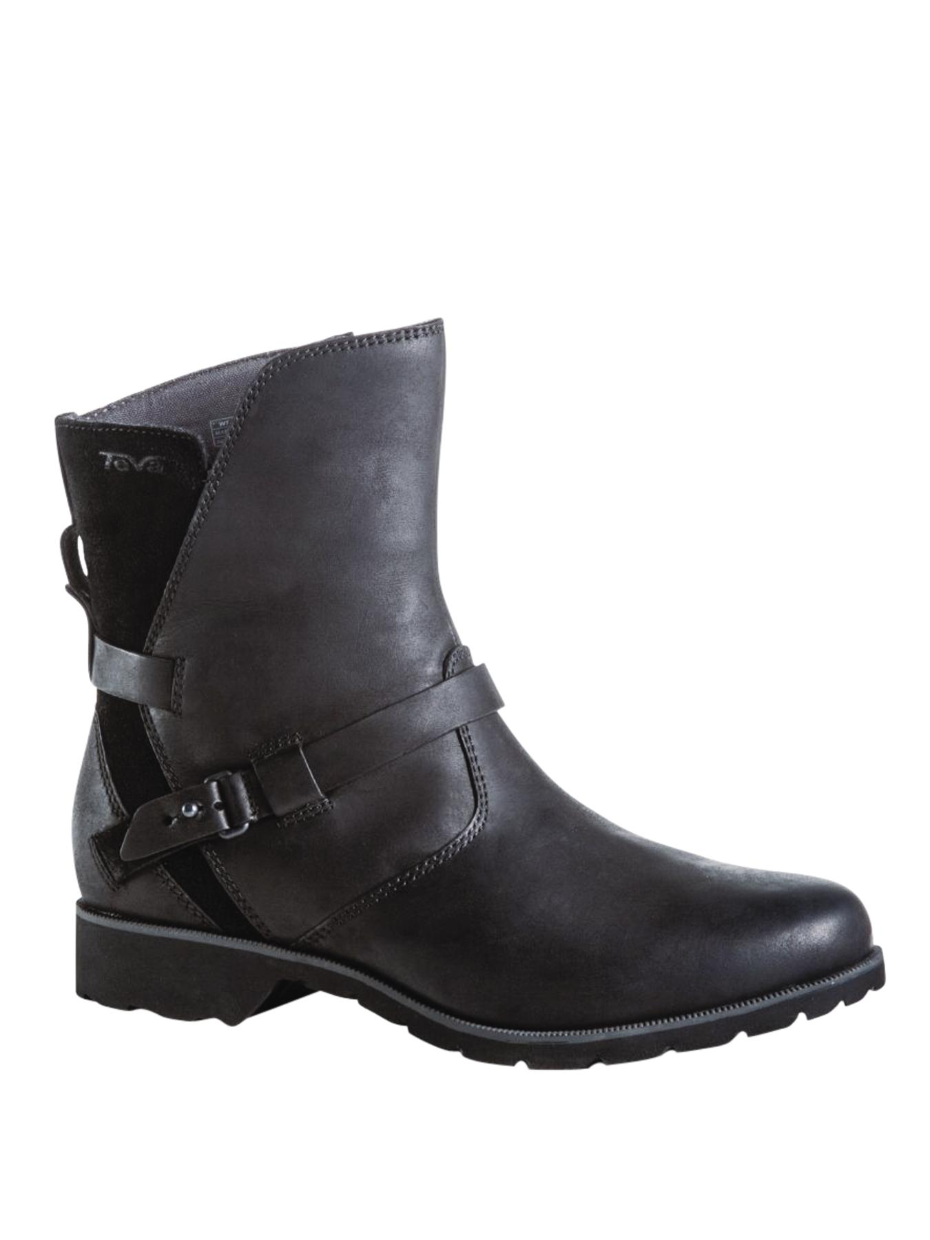 Ladies De La Vina Low Winter Boot, Black